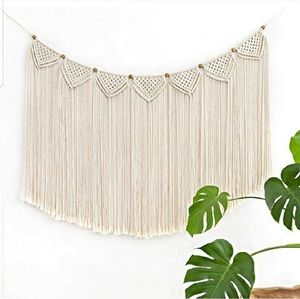 UO Macrame Wall Hanging Tapestry Curtain Fringe